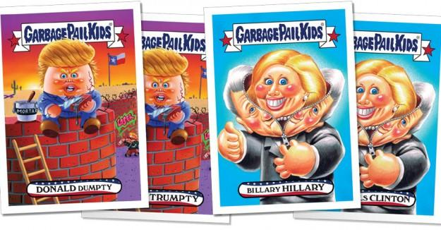 Politics: 'Garbage Pail Kids' Cast Their Vote With New Cards
