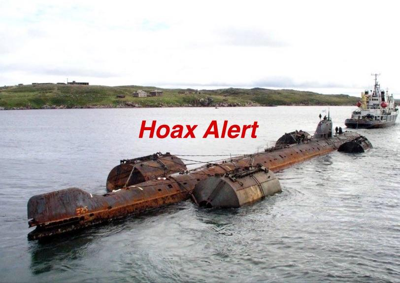 HOAX ALERT! Nazi Submarine NOT Discovered in Great Lakes