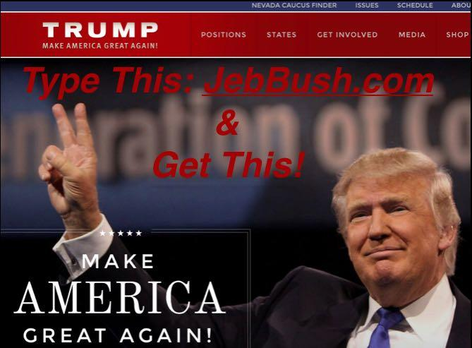 Oops! Jeb! Forgot To Renew Web Domain: Donald Trump Buys JebBush.com
