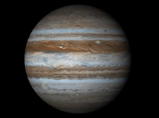 Interstellar Collision: Watch Jupiter Get Hit by Asteroid