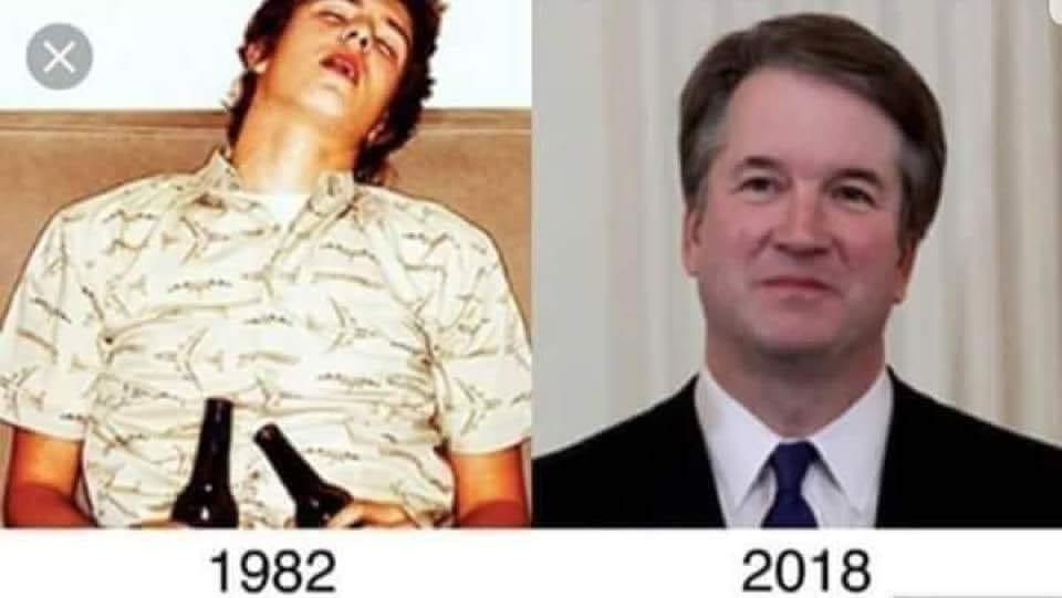 Fake News: Viral Photo Does NOT Show Brett Kavanaugh Drunk On Couch In 1982