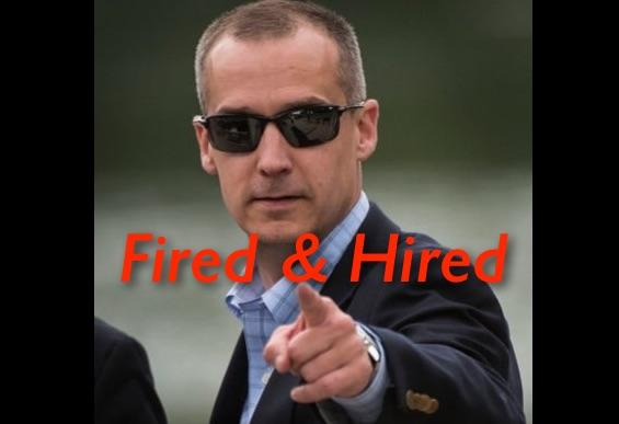 CNN Hires Corey Lewandowski, Campaign Manager Donald Trump Fired