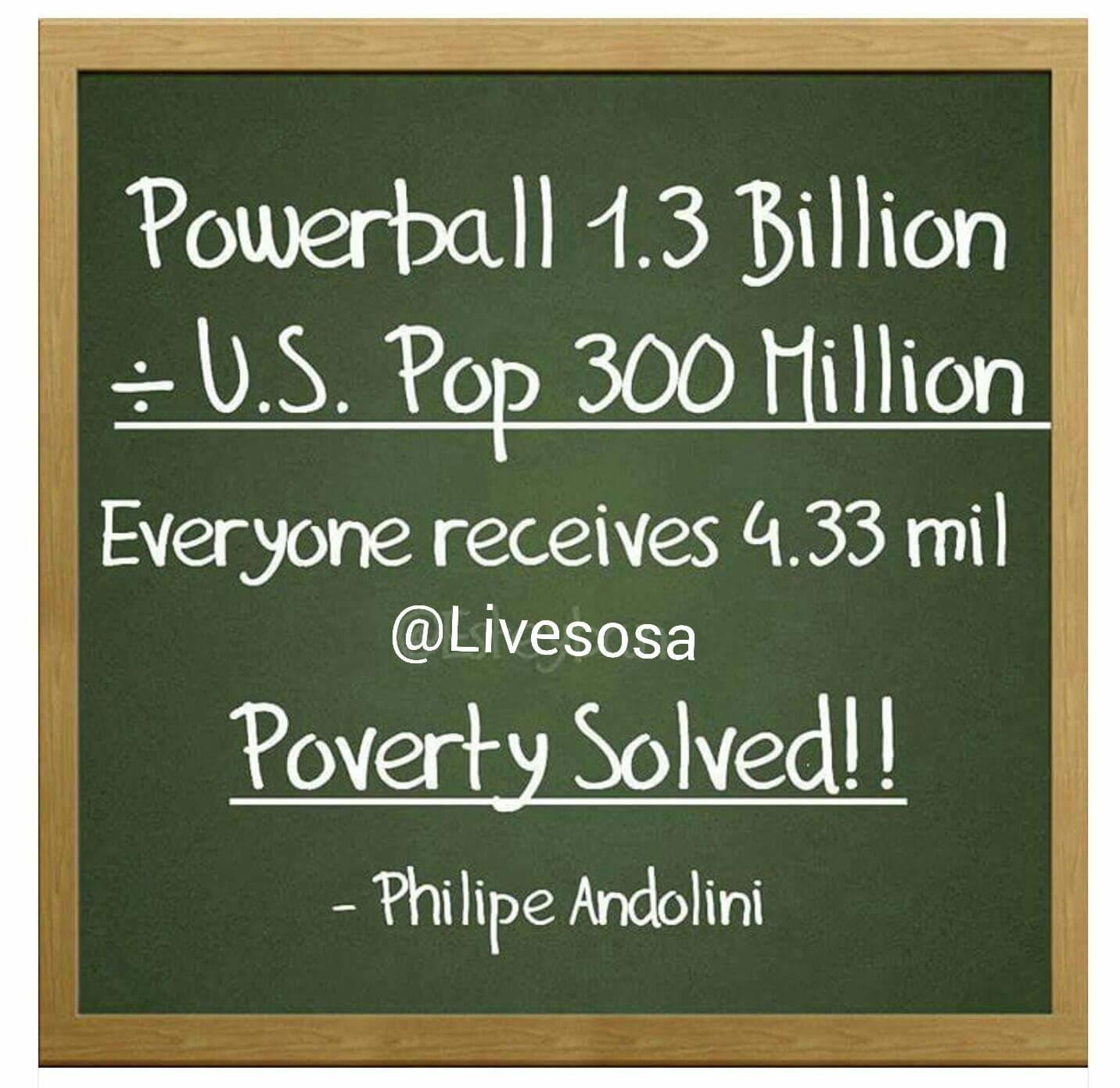 Trending Powerball: Plan To Divide Money Among All American Is Bad Math