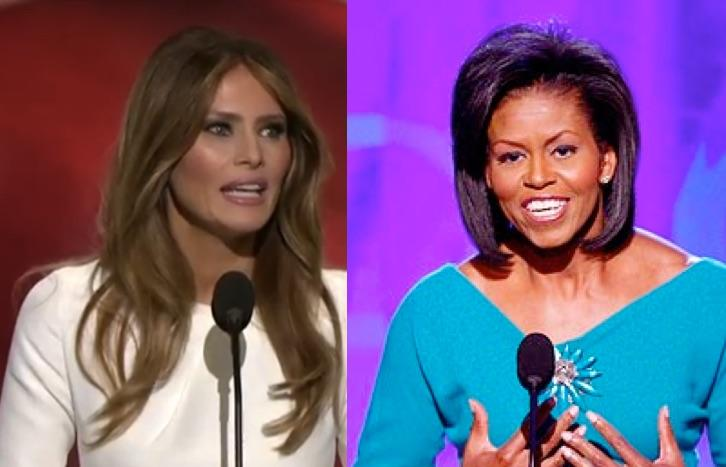 Melania Trump's Speech Was Good, But Michelle Obama's 2008 Delivery Of It Was Better