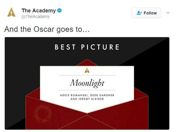 And the Awards for Best Tweets About the Oscars Go To...