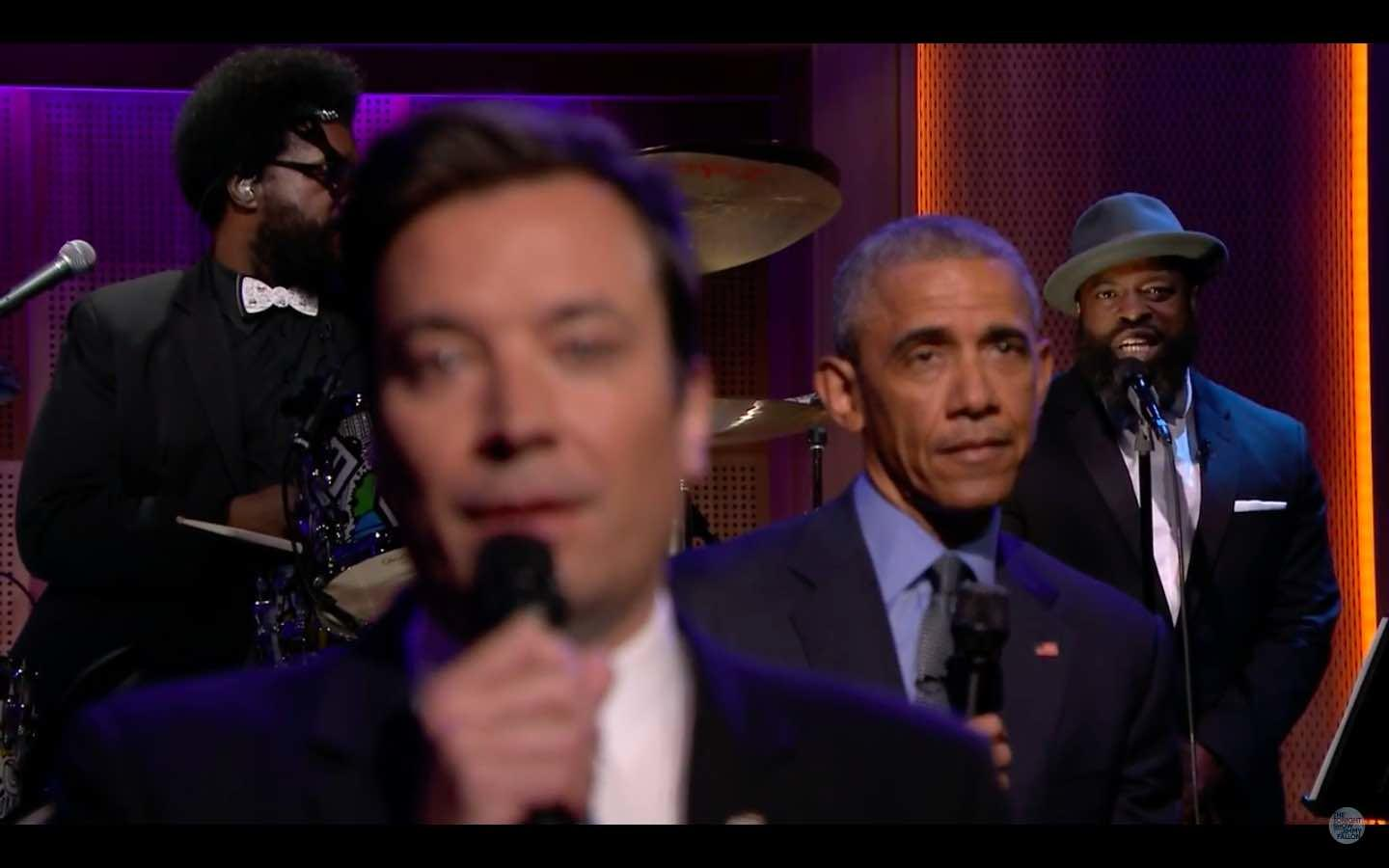 Watch: President Obama 'Slow Jams The News' With Jimmy Fallon On The Tonight Show