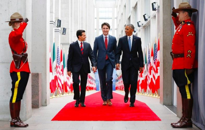 Watch Replay: President Obama New Conference With Canada's PM Trudeau & Mexico's President Nieto