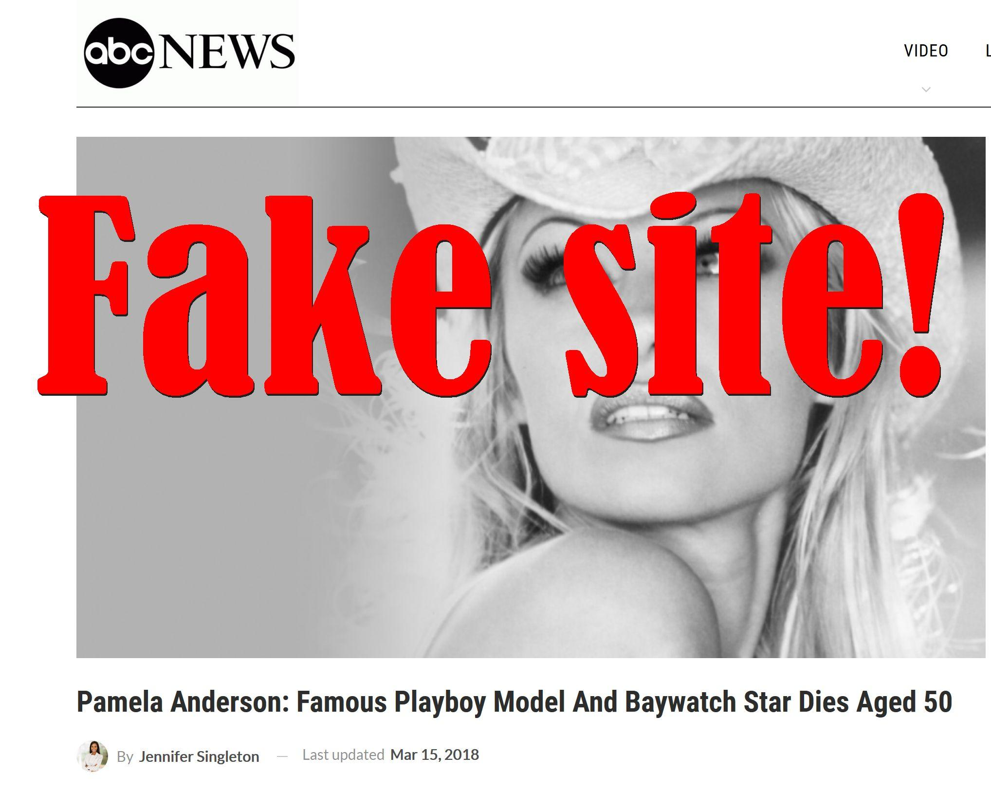 Fake News: Pamela Anderson, Famous Playboy Model and Baywatch Star Did NOT Die Aged 50