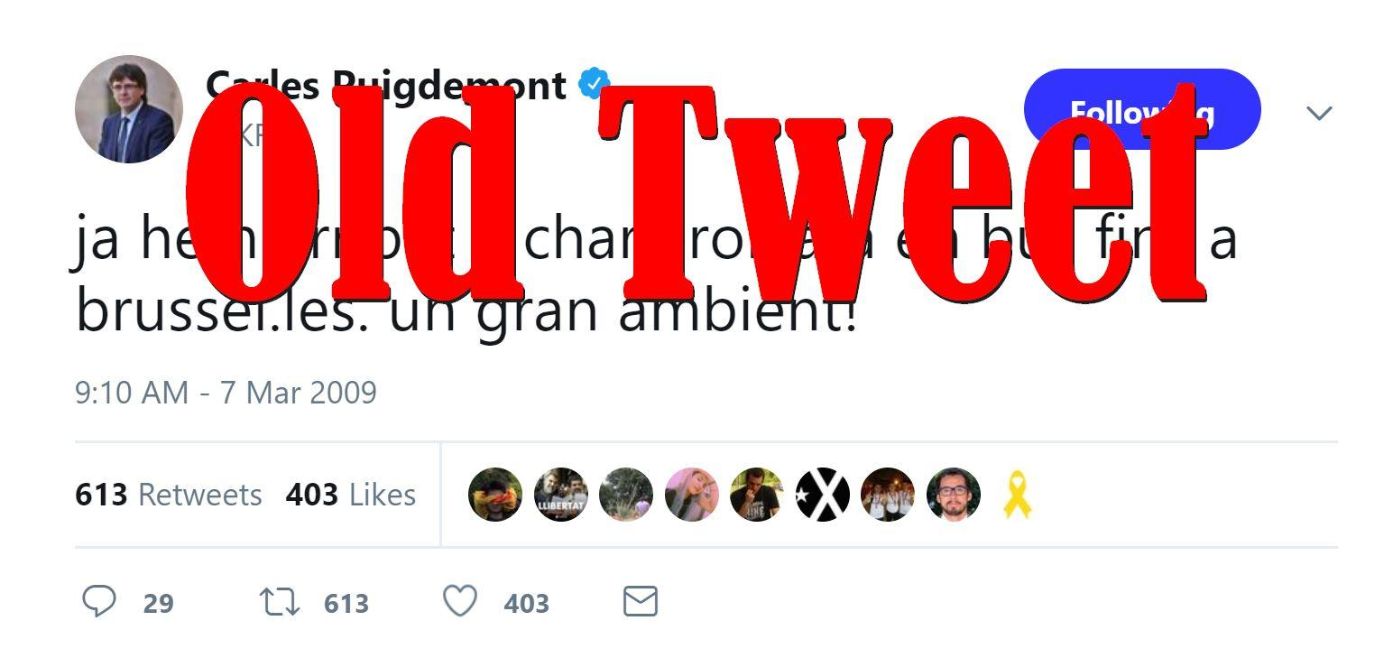 Fake News: Puigdemont NOT On Bus From Charleroi To Brussels Today