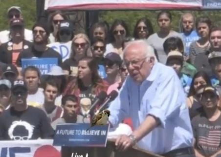 Watch LIVE Stream: Bernie Sanders At Irvine, California Rally Sunday, May 22