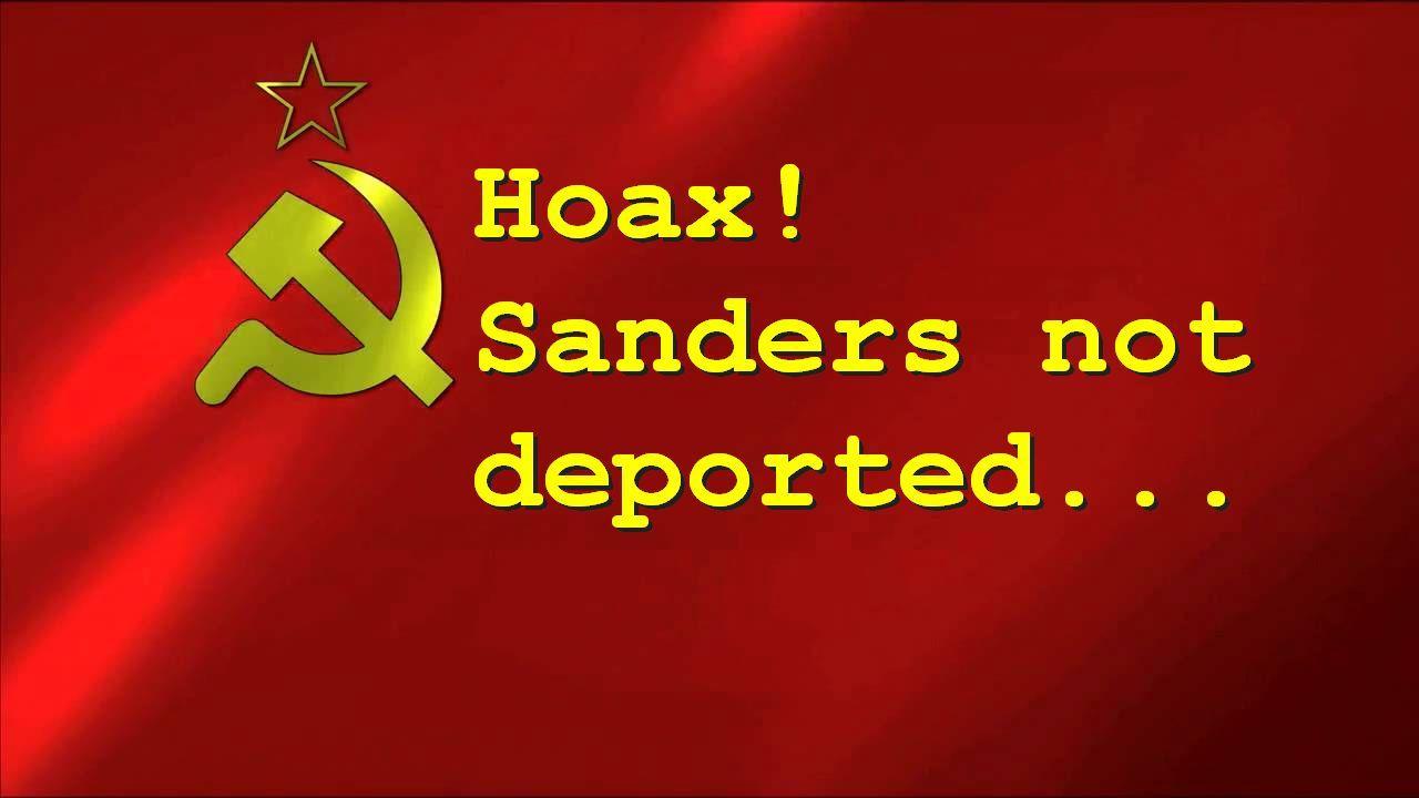 Donald Trump DID NOT Pledge To Deport Bernie Sanders To Soviet Union