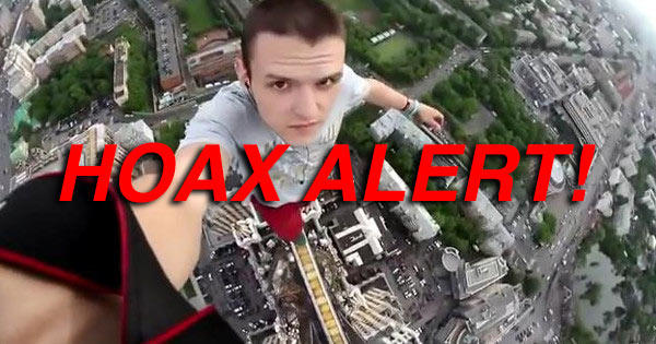 Man Did NOT Make Fatal 128-Story Fall Seconds After Taking A Selfie