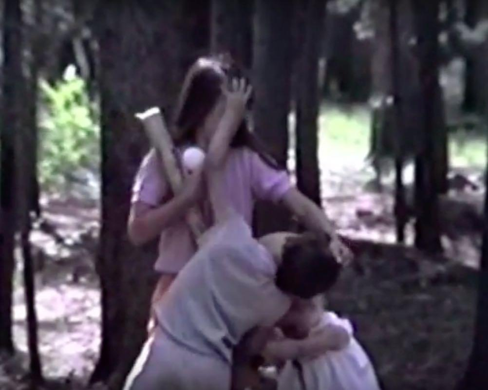 Classic Sibling Battle Video: A Struggle For Control Of Bat & Ball