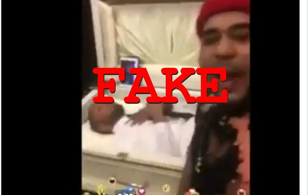 Fake News: Gang Member DID NOT Go to Rivals Funeral and Slap the Dead Man While He Lays in Coffin