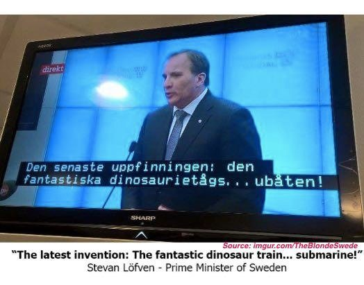 Best Debate Ever? Swedish TV Accidentally Puts Kids Show Subtitles On Political Forum