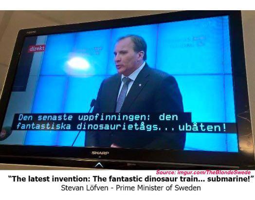 Best Debate Ever? Swedish TV Accidentally Puts Kids Show Subtitles On Political Forum