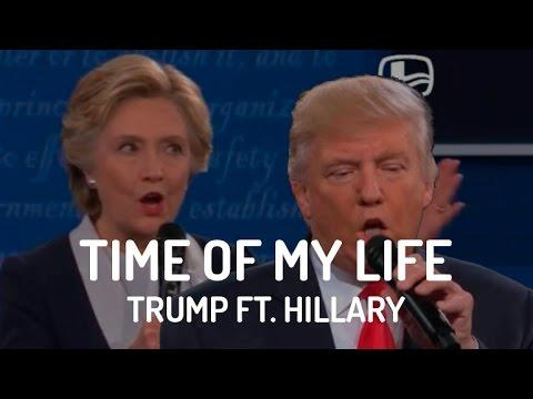 "Donald and Hillary Having ""Time of Their Life"""
