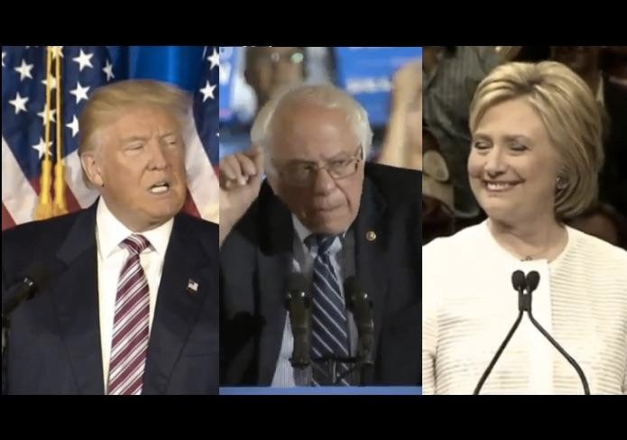 Watch Replays: Donald Trump, Hillary Clinton & Bernie Sanders Speeches As 2016 Primaries End