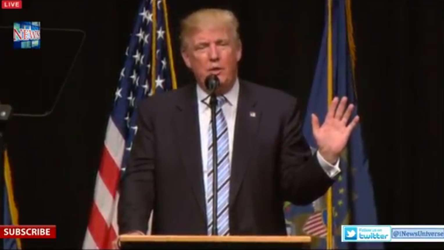 Watch LIVE Stream: Donald Trump Giving Speech At Petroleum Conference in Bismarck, North Dakota