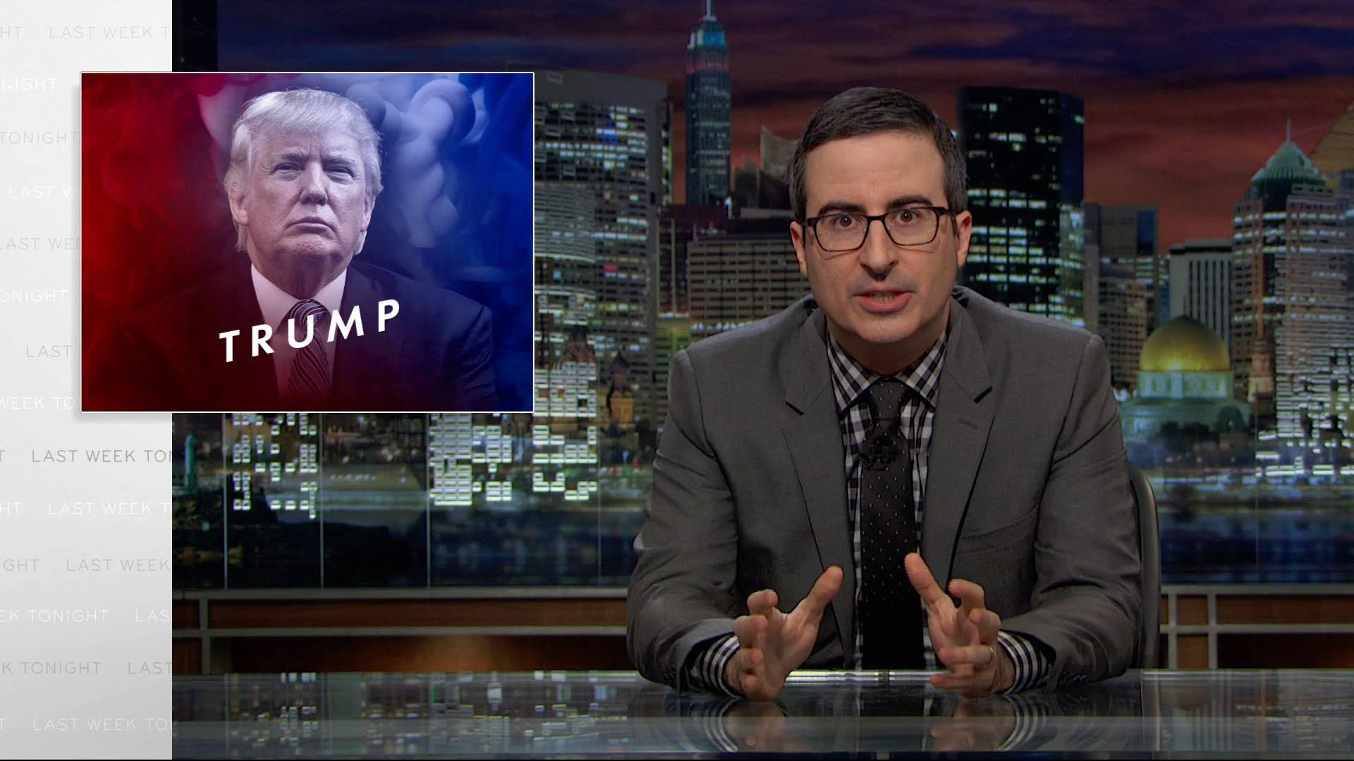 John Oliver's Donald Trump Episode Breaks The Internet
