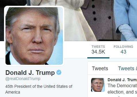 Trump Tweets About Fake News, Twitter Responds
