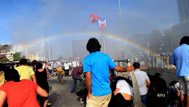 Sweet Irony: Turkish Police Use Water Cannons On Gay Pride Marchers, Create Rainbows