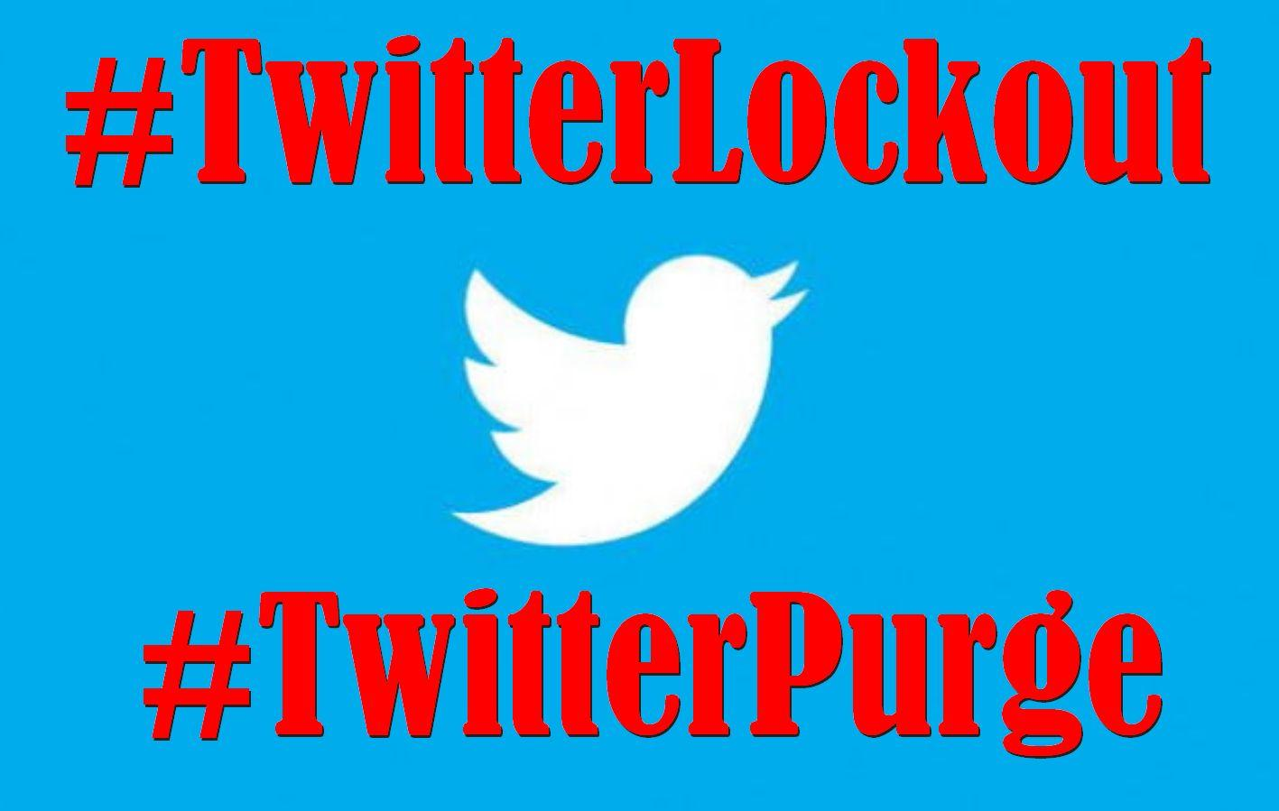 Twitter Users Are Complaining About a #Twitterlockout and a #Twitterpurge