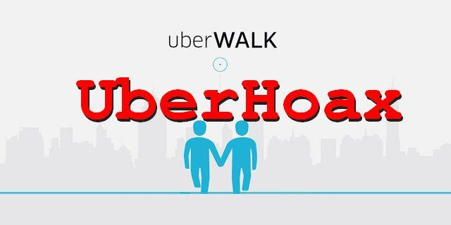 Uber DID NOT Announce UberWALK, Assistant Will NOT Hold Your Hand