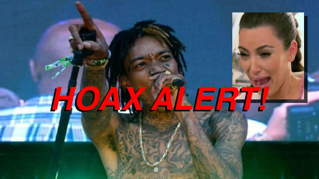 Hoax Alert: Wiz Khalifa DID NOT Play Kim K Sextape on Stage During Concert
